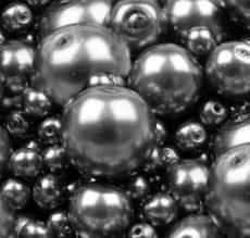 Cseh üveg tekla gyöngy - 4 mm - 50 db/cs - nárcisz