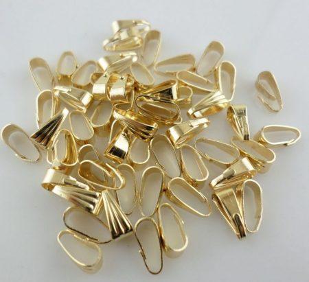 Medálvezető - 7*3 mm - arany (5db/csomag)
