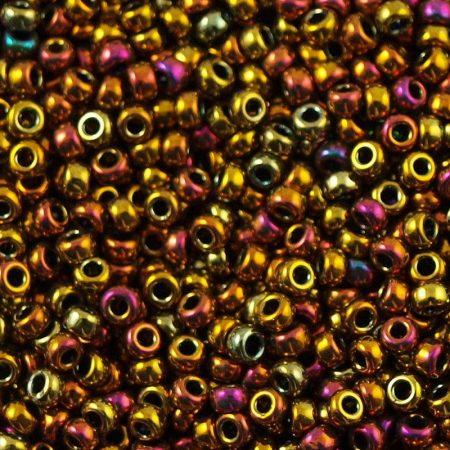 Miyuki 11/0 - #462 -  Metallic Gold Iris- 10 gr