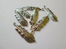 Toll medál - 50x14 mm - antik ezüst
