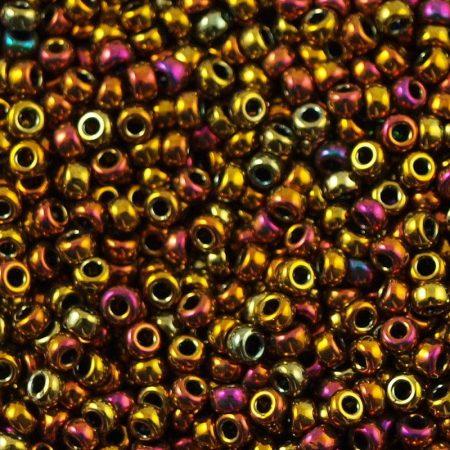 Miyuki 15/0 - #462 - Metallic Gold Iris   - 5 gr