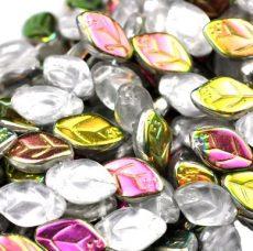 Czech leaf bead - 12*7 mm