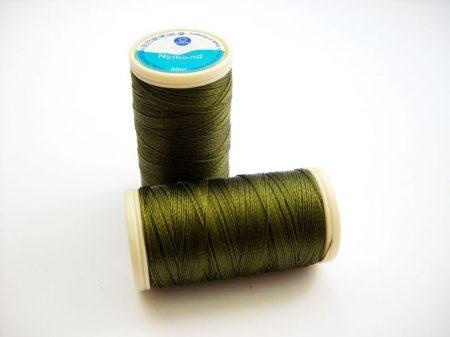 Nylbond gyöngyhímző cérna - oliva (#8055) - 60 m