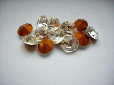 Swarovski ovális kristály - 12x10 mm - clear crystal