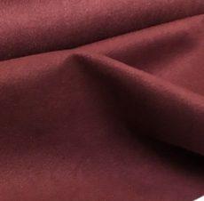 Ultrasuede -  burgundy -  25*15 cm