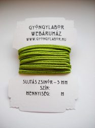 Soutache braid - 3 mm - glossy - spinach green  (#28)
