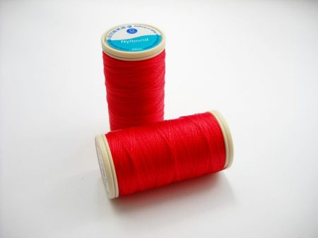 Nylbond beading thread - strawberry (#8778) - 60 m