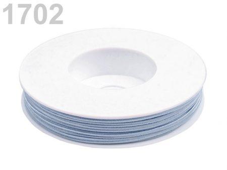 Sujtás zsinór - 3 mm - kasmír kék (#1702)