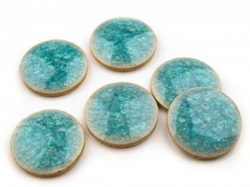 Ceramic cabs/beads/raku
